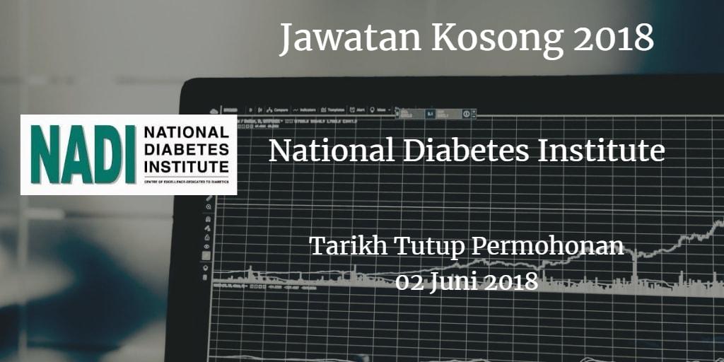 Jawatan Kosong NADI 03 Jun 2018