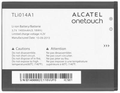 Alcatel TLi014A1 Batterij