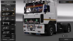 MAZ 5440 truck mod