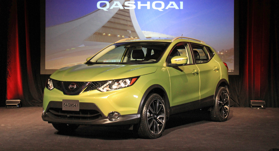 new nissan rogue sport lands in canada with qashqai nameplate. Black Bedroom Furniture Sets. Home Design Ideas
