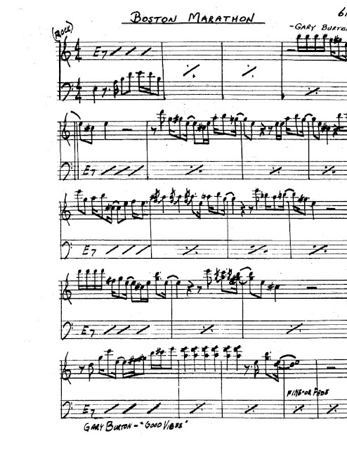 Partitura Saxofón Gary Burton
