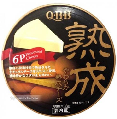 Phô mai QBB vị trứng vỉ 108g chính hãng của Nhật