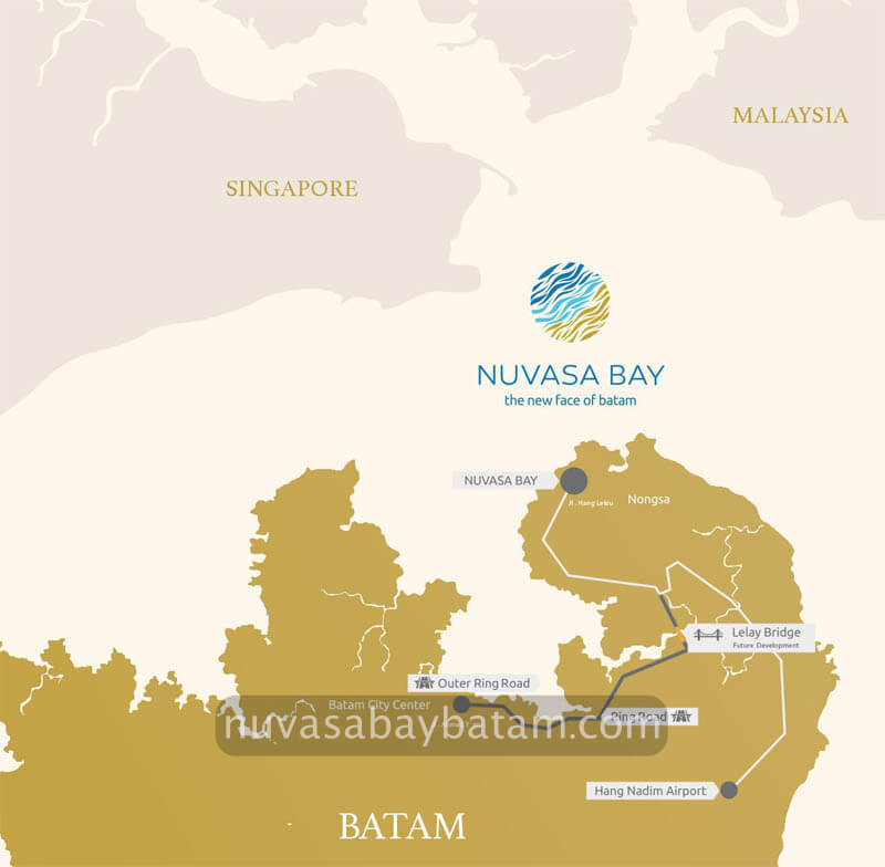 Nuvasa Bay Batam Location Near Singapore