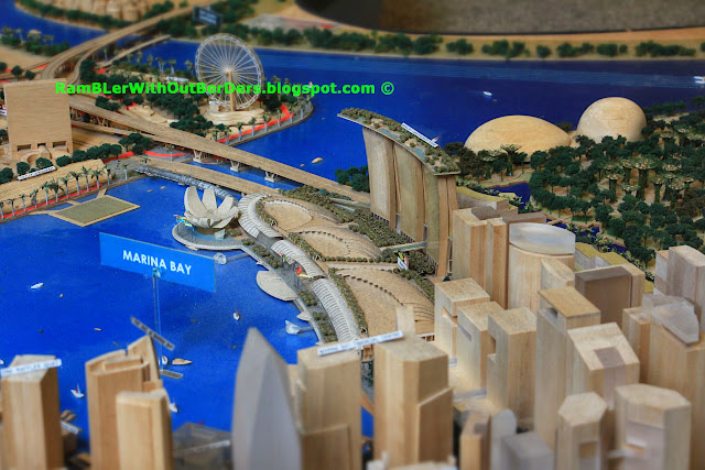 Marina Bay, City Centre Model,  Singapore City Gallery, Singapore
