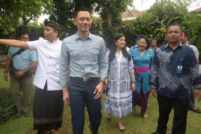 AHY Minta Demokrat Bali Genjot Perolehan Kursi Legislatif