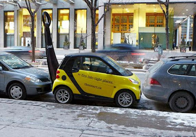 Clever and Creative Smart Car Advertisements  (15) 7