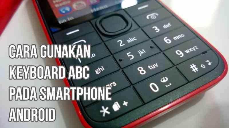 gambar pakai keyboard ABC di android