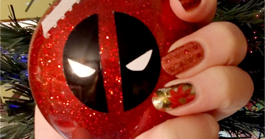 Handmade Trove: Deadpool Ornament