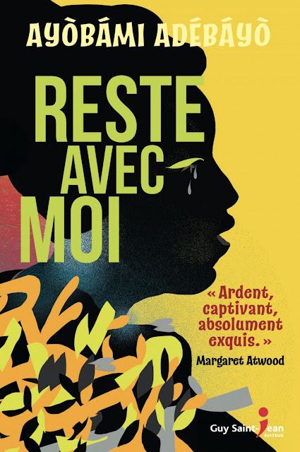 Reste avec moi, Ayobami Abédayo, Guy Saint-Jean Éditeur, Océane's Family