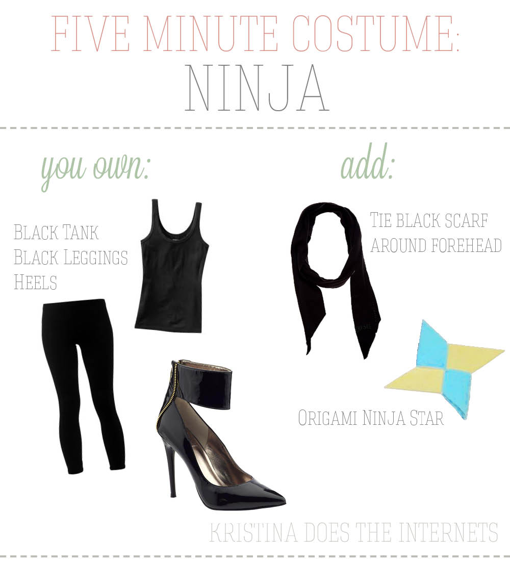 Five Minute Costumes