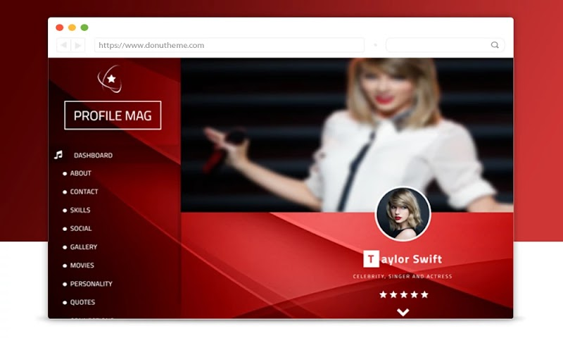 ProfileMag Personal Blogger Template - Responsive Blogger Template