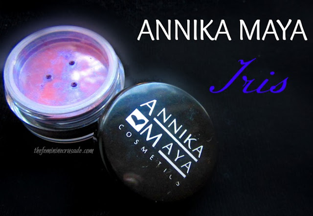 Picture of Annika Maya Shimmer Powder in Iris