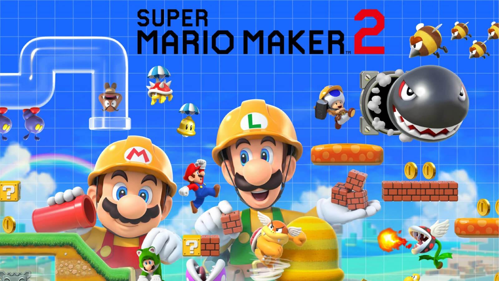 mario maker 2 release date