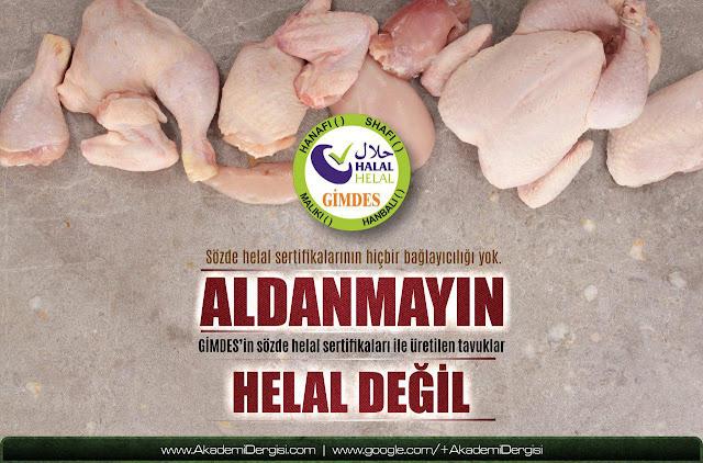 Helal gıda sertifikası hileleri, Gimdes, Fatih Kalender, Er Piliç | Akademi Dergisi | Mehmet Fahri Sertkaya