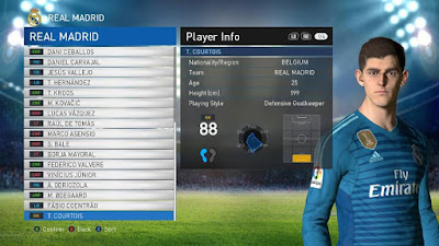 PES 2017 Option File PES Professionals Patch 2017 Update 08/08/2018