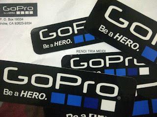 Cara Mendapatkan Sticker MasterCard, GoPro, Hostagor Gratis