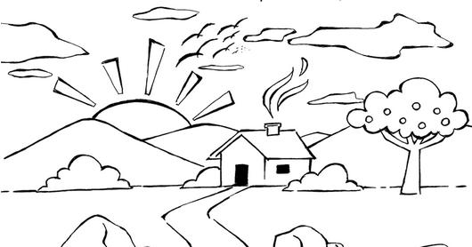 Atividades Dia Da Natureza Exercicios Desenhos Colorir Imprimir Vi