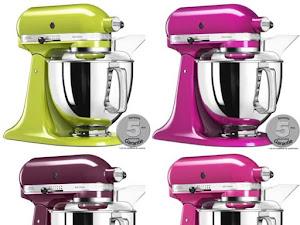 150 € de réduction sur les robots pâtissiers Kitchenaid Artisan de couleur :)
