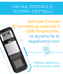OFFERTA  USB FINGERPRINT