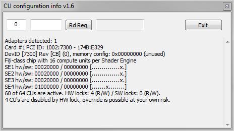 Actually Hardcore Overclocking: R9 Fury Unlocking Simplified