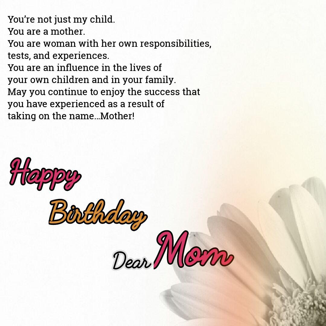 Best 70 Birthday Wishes For Mom Love Shayari In Hindi Top