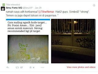 Hati-hati, Coretan di Tembok Rumah Bisa Jadi Kode untuk Perampok !