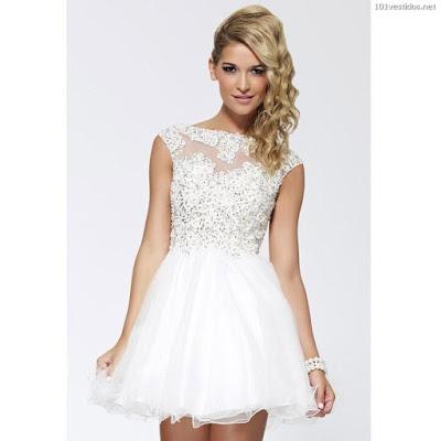 Vestidos Blancos de Fiesta