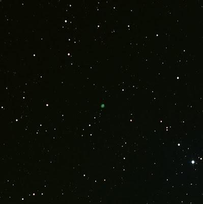 LRGB photograph of planetary nebula NGC 2022
