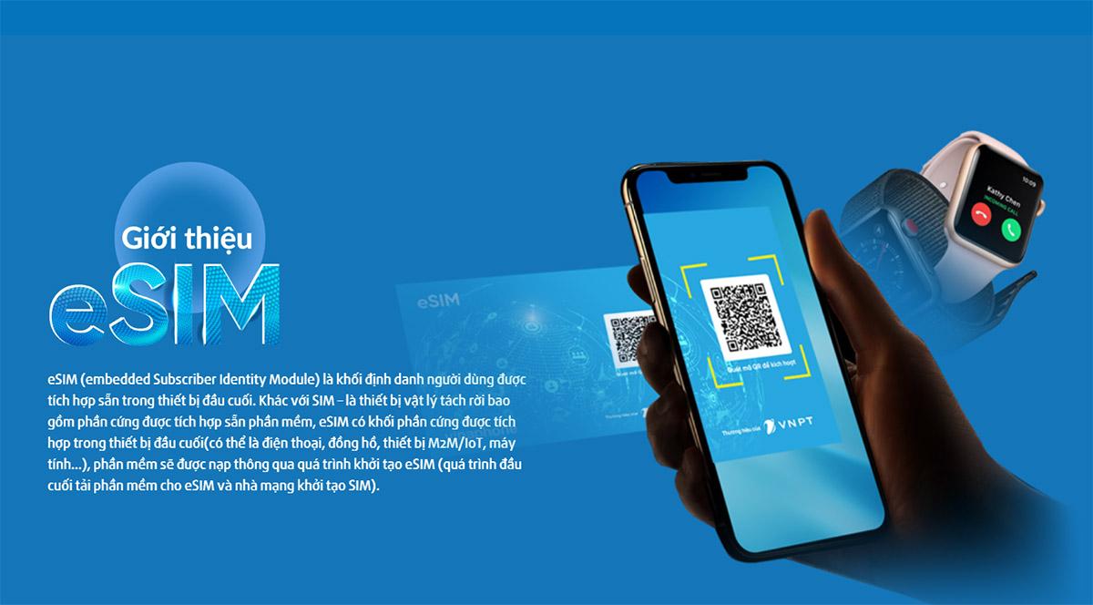 Hướng dẫn đăng ký và sử dụng eSIM mạng Vinaphone zamoss