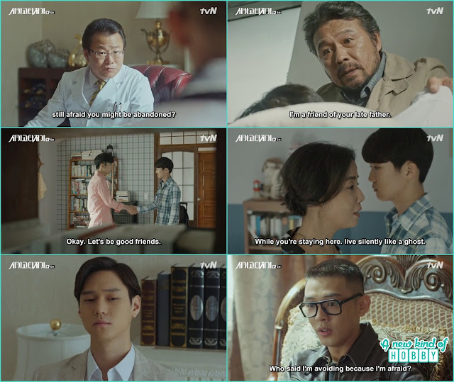 se joo while consulting the doctor remember how he came at tae min house and what his mother -  Chicago Typewriter: Episode 6