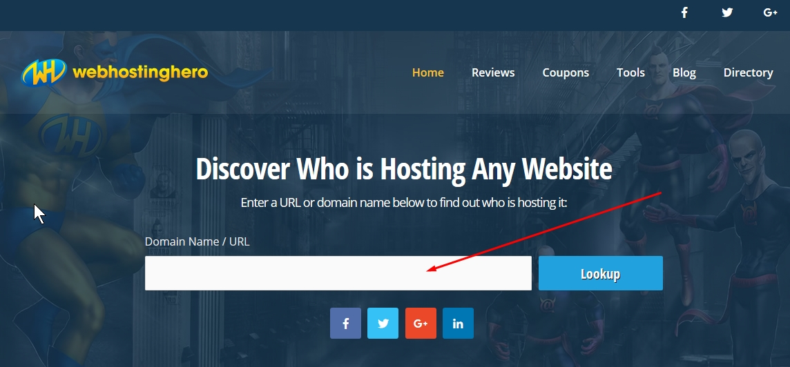 web hosting checker