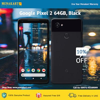 Google Pixel 2, 64GB, Black
