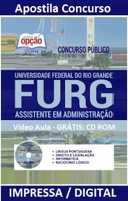 Apostila Concurso UFRGS Rio Grande - Assistente em Administração