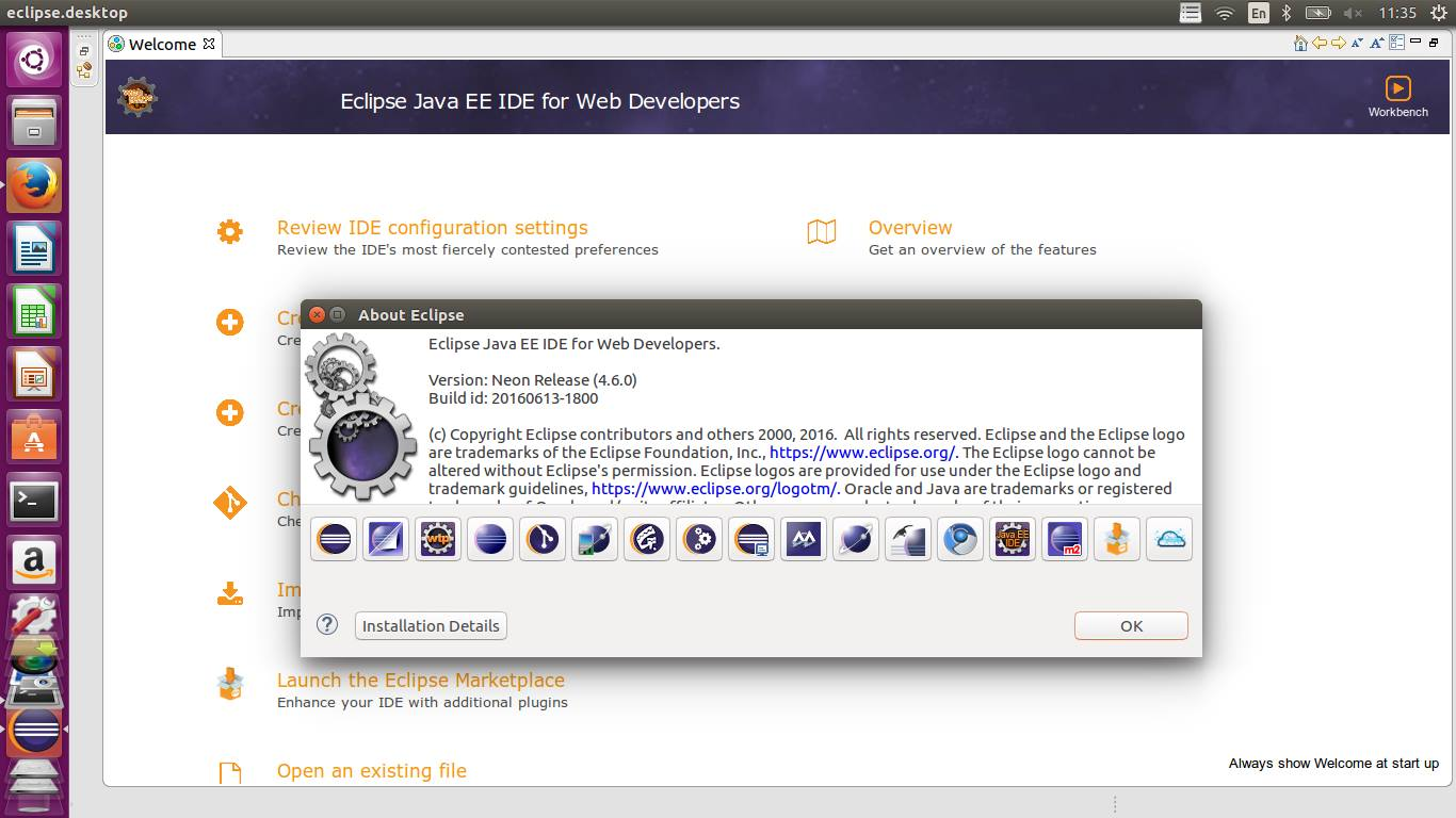 eclipse ubuntu