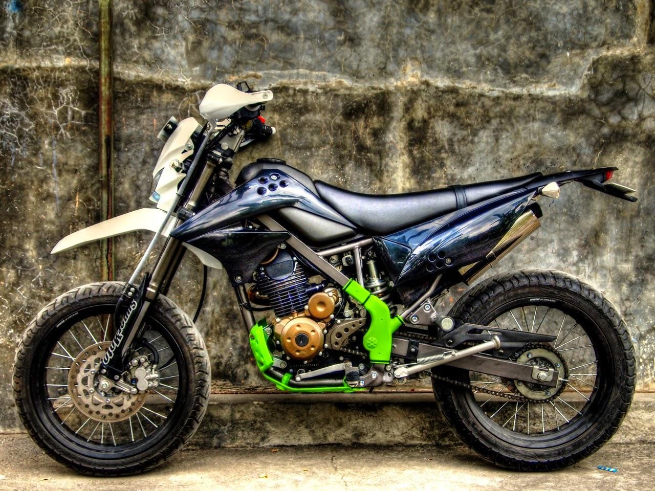 Kumpulan Foto Modifikasi Motor Kawasaki Klx Terbaru Modispik Motor