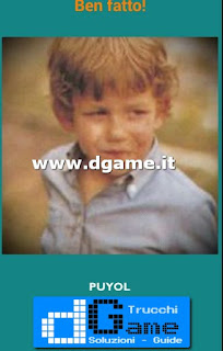 Soluzioni Guess the child footballer livello 35