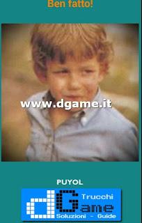 Soluzioni Guess the child footballer livello 35