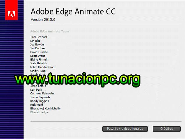 Descarga Adobe Edge Animate CC 2018