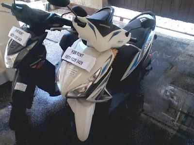 foto rental motor bali indonesia