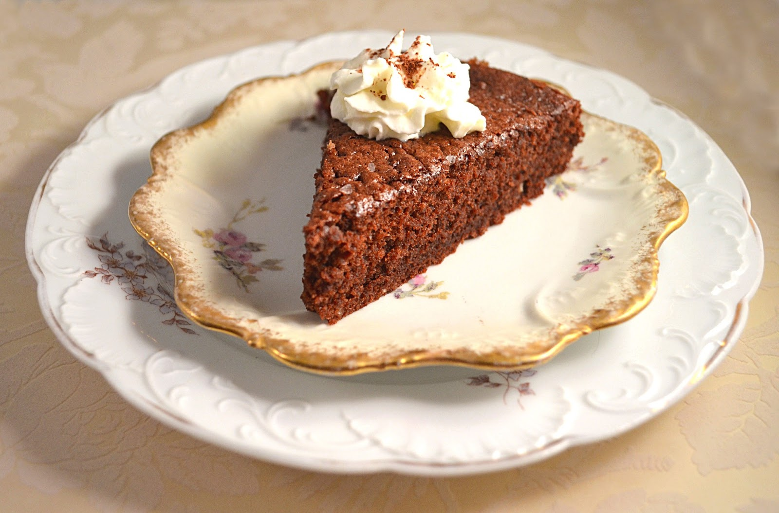 Chocolate Tea Cake Tartine
