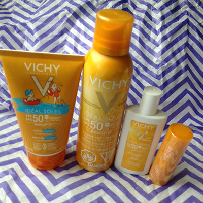 Vichy Sunscreen Must Haves ~ #VichyWorksForMe #Review