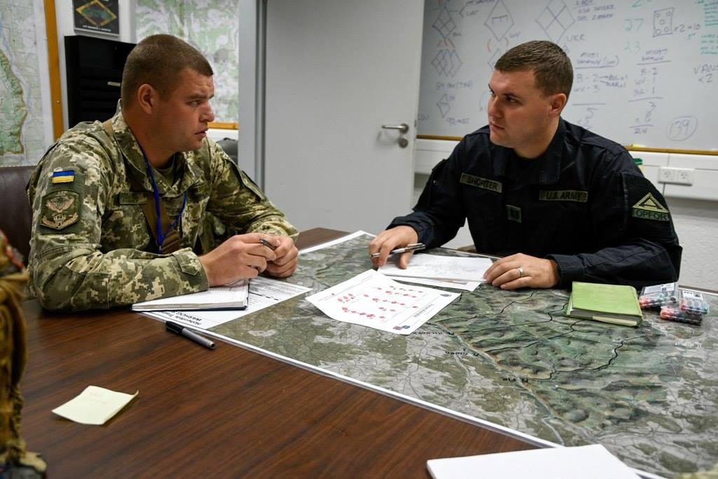фото українських десантників на Saber Junction-2018
