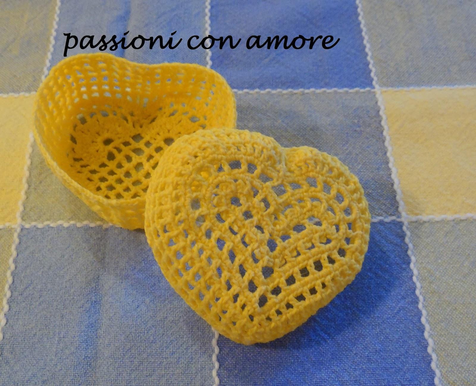 Eccezionale Passioni con Amore: altre bomboniere all'uncinetto KM22