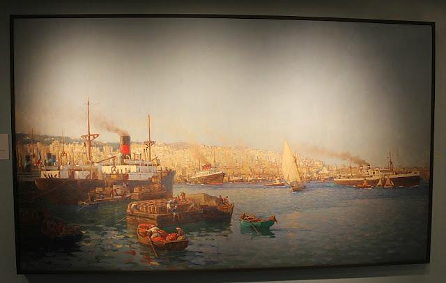 Exposition peinture des lointains musée Quai Branly-Jacques Chirac peintre collection