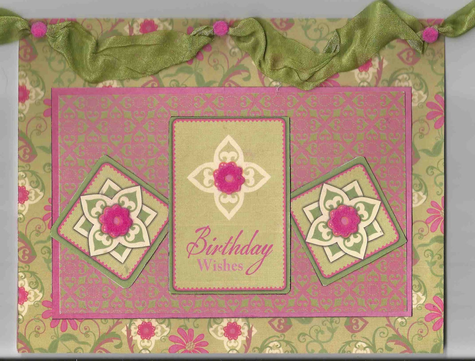 TheBrumbelowBungalow: Nice Feminine Birthday Card