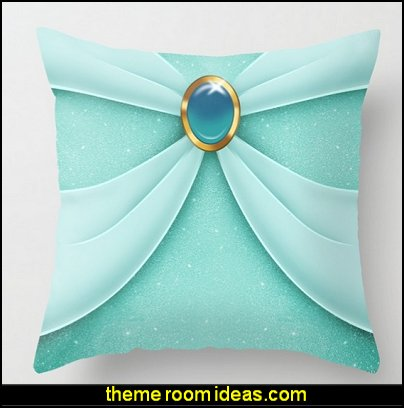 Jasmine Style Throw Pillow  Jasmin Princess bedroom - Aladdin Movie Wall Decal  princess jasmine castle bedroom ideas aladdin room decor  A Whole New World