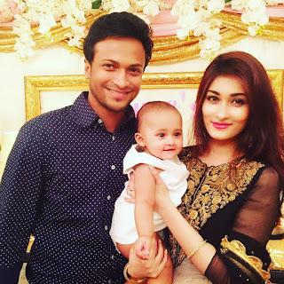Shakib Al Hasan's Family