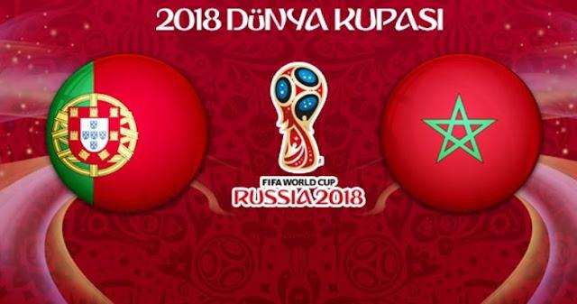2018 Fifa Dünya Kupası Portekiz 1-0 Fas ( Morocco ) Detayları - Kurgu Gücü