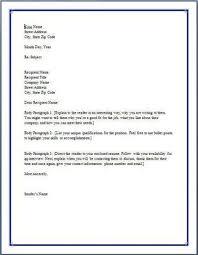 kako napisati cover letter na engleskom