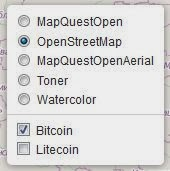 coin map vous aide à vendre et acheter des bitcoins